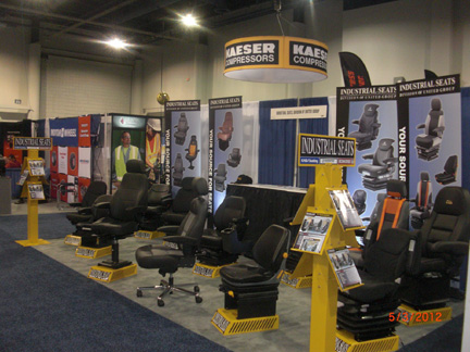 Waste Expo Booth Las Vegas Trade Show May 1, 2012