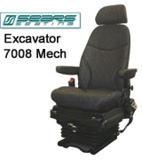 Sears Excavator Seat 7008 Mechanical